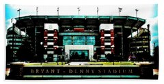 U Of A Bryant-denny_stadium Bath Towel