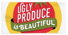Ugly Produce Is Beautiful Bath Towel