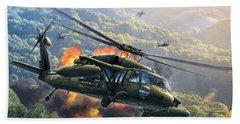 Uh-60 Blackhawk Hand Towel
