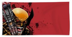 Ultimate Wolverine Vs. Hulk Bath Towel