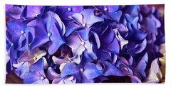 Ultra Violet Dance Bath Towel