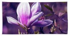 Ultra Violet Magnolia  Hand Towel