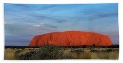 Uluru Sunset 03 Bath Towel