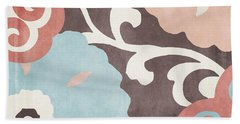Umbrella Skies II Suzani Pattern Hand Towel