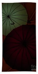 Umbrellas Bath Towel