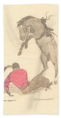 Unconquered Hand Towel