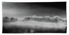 Bath Towel featuring the photograph Under A Cloud by Steven Huszar