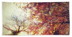 Under An Autumn Sky Bath Towel