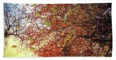 Under An Autumn Sky - No.2 Hand Towel