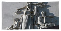 Under Scales Of Justice Hand Towel