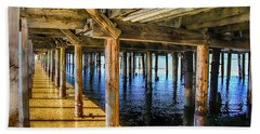 Under The Boardwalk Bath Towel