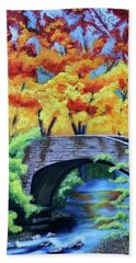 Under The Bridge Hand Towel