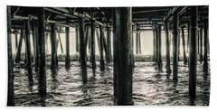 Under The Pier 3 Bath Towel