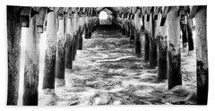 Pier - Myrtle Beach South Carolina Bath Towel