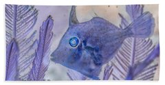 Hand Towel featuring the photograph Under The Sea Colorful Watercolor Art #8 by Debra and Dave Vanderlaan