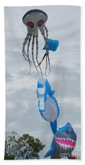 Under The Sea Kites 2 Hand Towel
