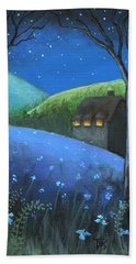 Under The Stars Hand Towel by Terry Webb Harshman