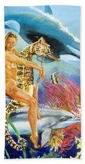 Undersea Fantasy Bath Towel by Bryan Bustard