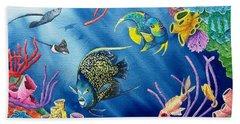 Undersea Garden Hand Towel by Gale Cochran-Smith