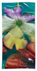 Underwater Flower Abstraction 5 Bath Towel