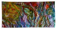 Underwater Seascape Hand Towel by Claire Bull
