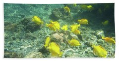 Underwater Yellow Tang Bath Towel