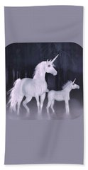 Unicorns In The Mist Hand Towel