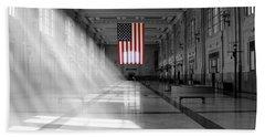 Union Station 2 - Kansas City Bath Towel by Mike McGlothlen