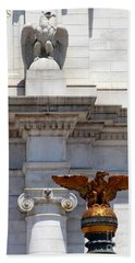Union Station D C 5 Hand Towel by Randall Weidner