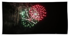 Unique Firework Bath Towel