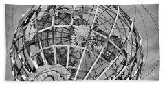 Unisphere In Black And White Hand Towel