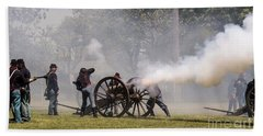 United States Civil War Bath Towel by David Bearden