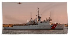 United States Coast Guard Cutter Escanaba Wmec-907 Bath Towel