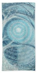 Hand Towel featuring the painting Unity by Holly Carmichael