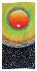 Universal Eye In Red Hand Towel