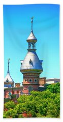 University Of Tampa Minaret Fl Hand Towel