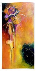Hand Towel featuring the painting Unrequited Love by Jim Whalen