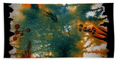 Hand Towel featuring the painting Adventure by Tamal Sen Sharma