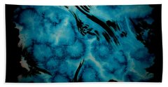 Hand Towel featuring the painting Droplet by Tamal Sen Sharma