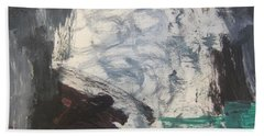 Untitled 127 Original Painting Bath Towel