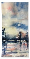 Untitled Bath Towel by Robin Miller-Bookhout