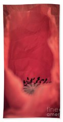 Hand Towel featuring the photograph Untouched by Hannes Cmarits