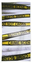 Unwrapping A Murder Investigation Hand Towel