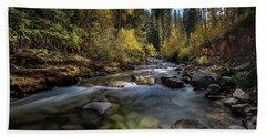 Up A Colorado Creek Hand Towel