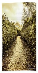 Up The Garden Path Hand Towel