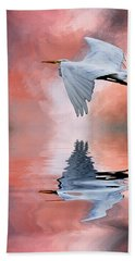 Up. Up And Away Hand Towel by Cyndy Doty