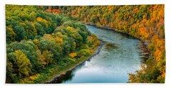 Upper Delaware River Bath Towel