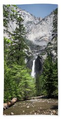 Upper Lower Bath Towel by Ryan Weddle