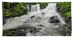Upper Lunch Creek Falls Bath Towel