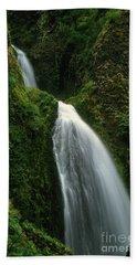 Upper Wahkeena Falls Hand Towel